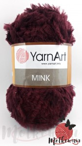 Yarn Art Mink 339 (bordo)